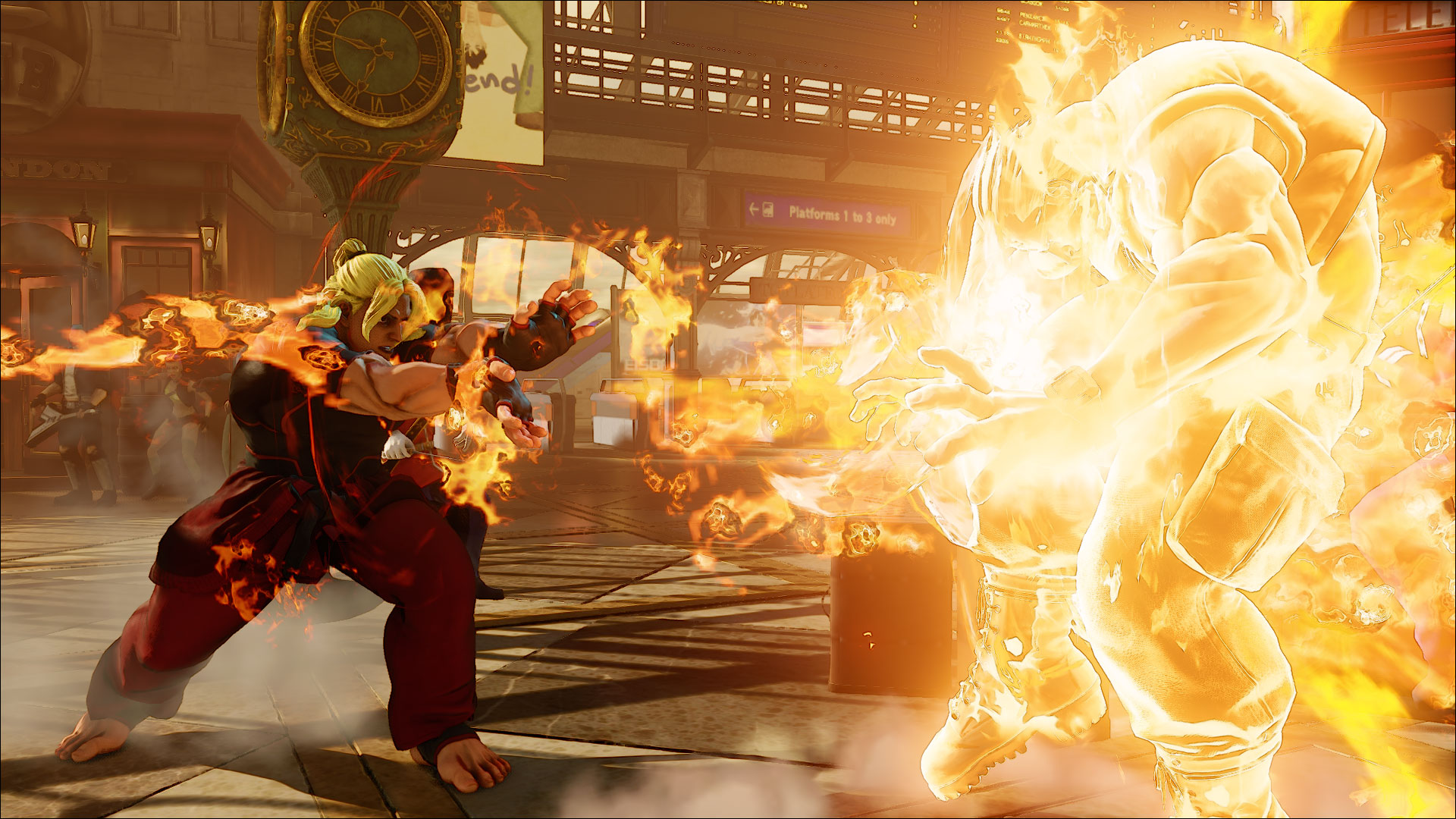 So Doesn T Ken Have The Fire Hadoken Seriously Read The