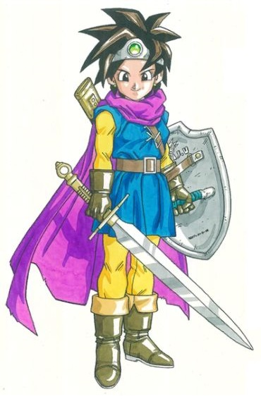 The Hero Of Dragon Quest Iii Erdrick Joins The Battle Smashboards From cantlin to damdara, maggot quests for the legendary items used by his forebearer while he purchases a flame sword and silver shield. the hero of dragon quest iii erdrick