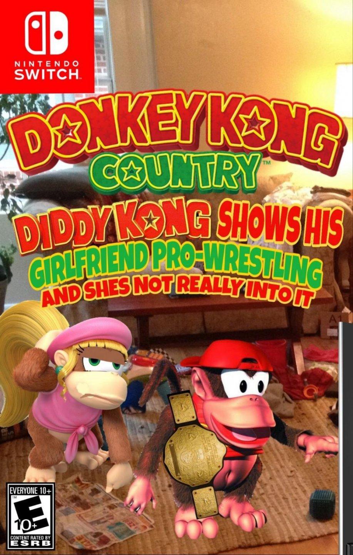 Dixie Kong's Barrel Of Support Spirits. Donkey Kong Racing ...