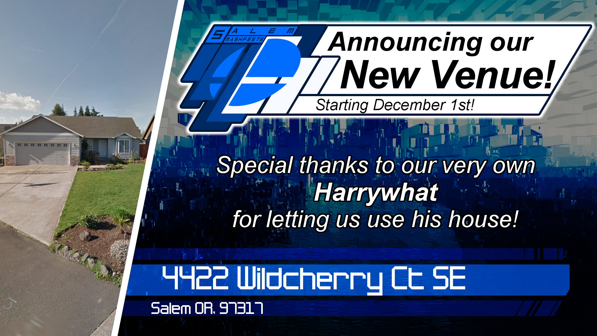 Announcement - New Venue (Harrywhat's).png