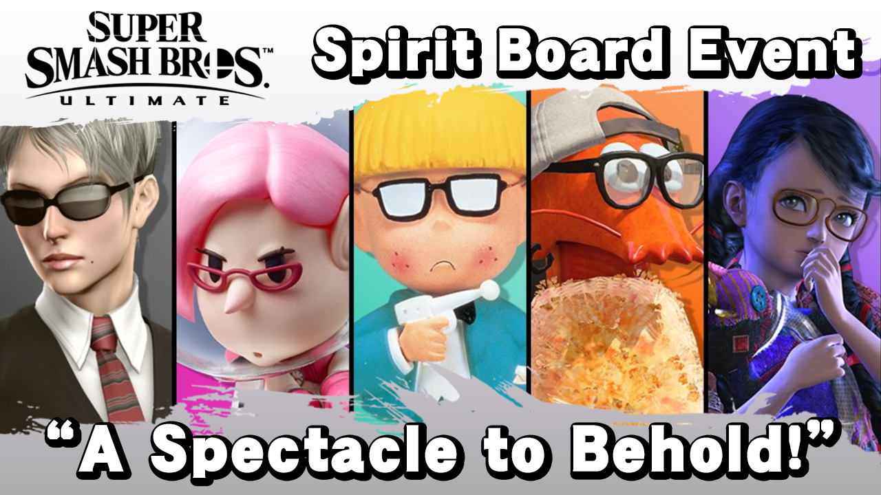Smash Ultimate Spirit Board Event A Spectacle To Behold Smashboards We stand tall on missing legs. smash ultimate spirit board event a