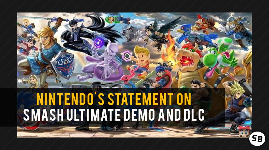 Nintendo's Statement on Super Smash Bros  Ultimate Demo and