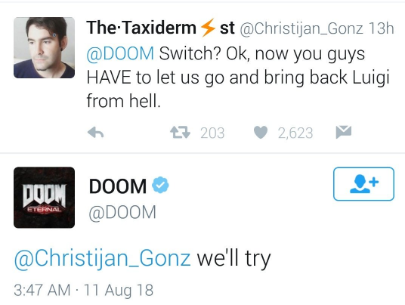 At Smash's Gate - The Doom Marine/Doomguy/Doom Slayer Thread