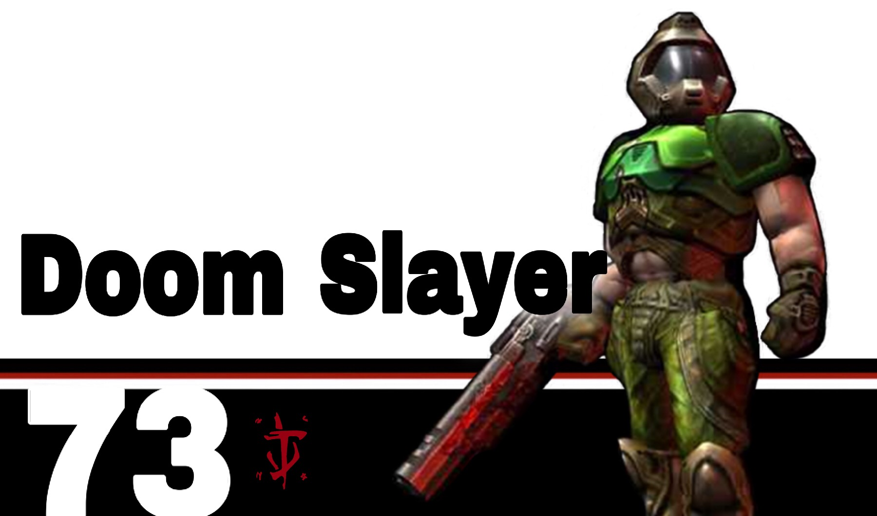 At Smash S Gate The Doom Marine Doomguy Doom Slayer Thread