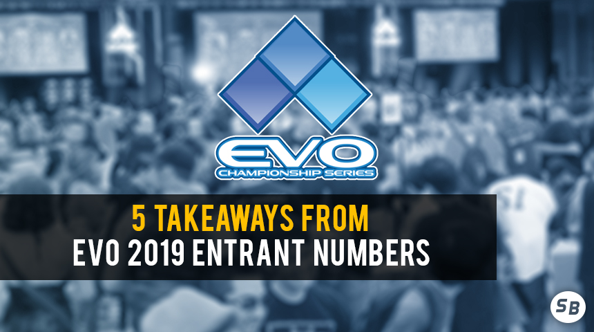 5 Takeaways From EVO 2019 Entrant Numbers | Smashboards