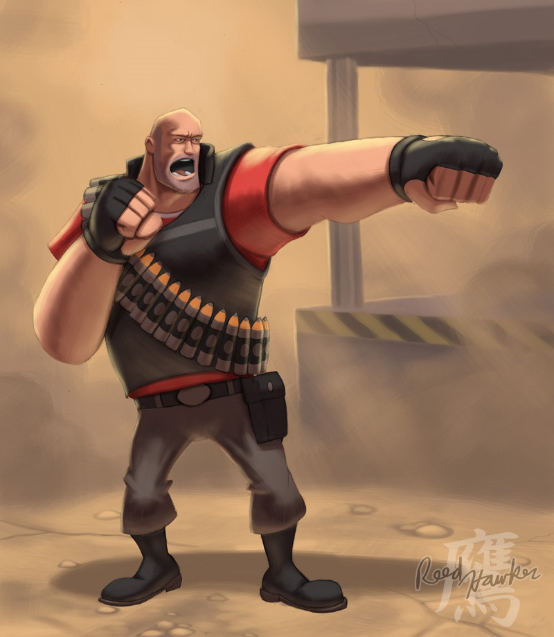 The Entire Team Is Babies  Heavy Weapons Guy For Super Smash Bros