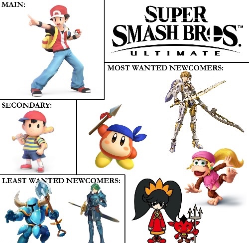 Official Smash Ultimate Discussion Age Of Dlc Speculation Begins