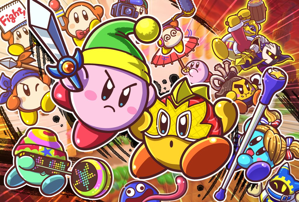 HAL Labratories mentions new Kirby games and merchandise for 2021 |  Smashboards