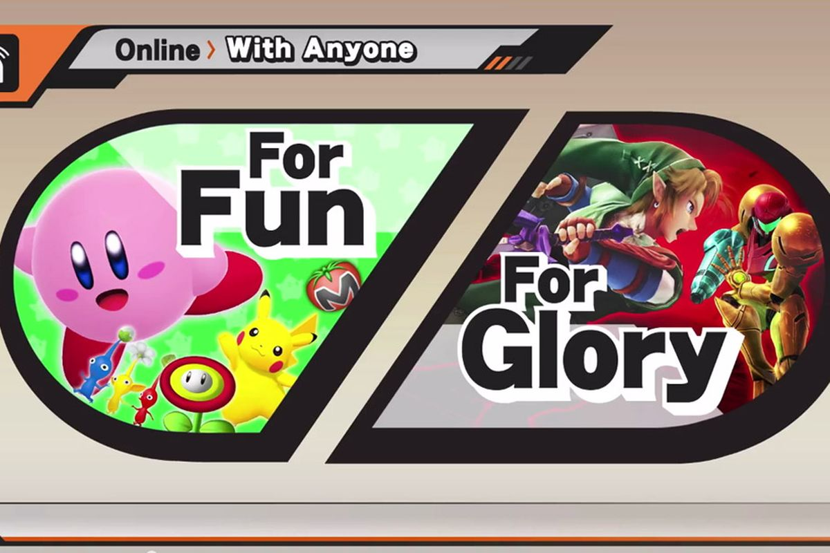 Super Smash 3DS matchmaking