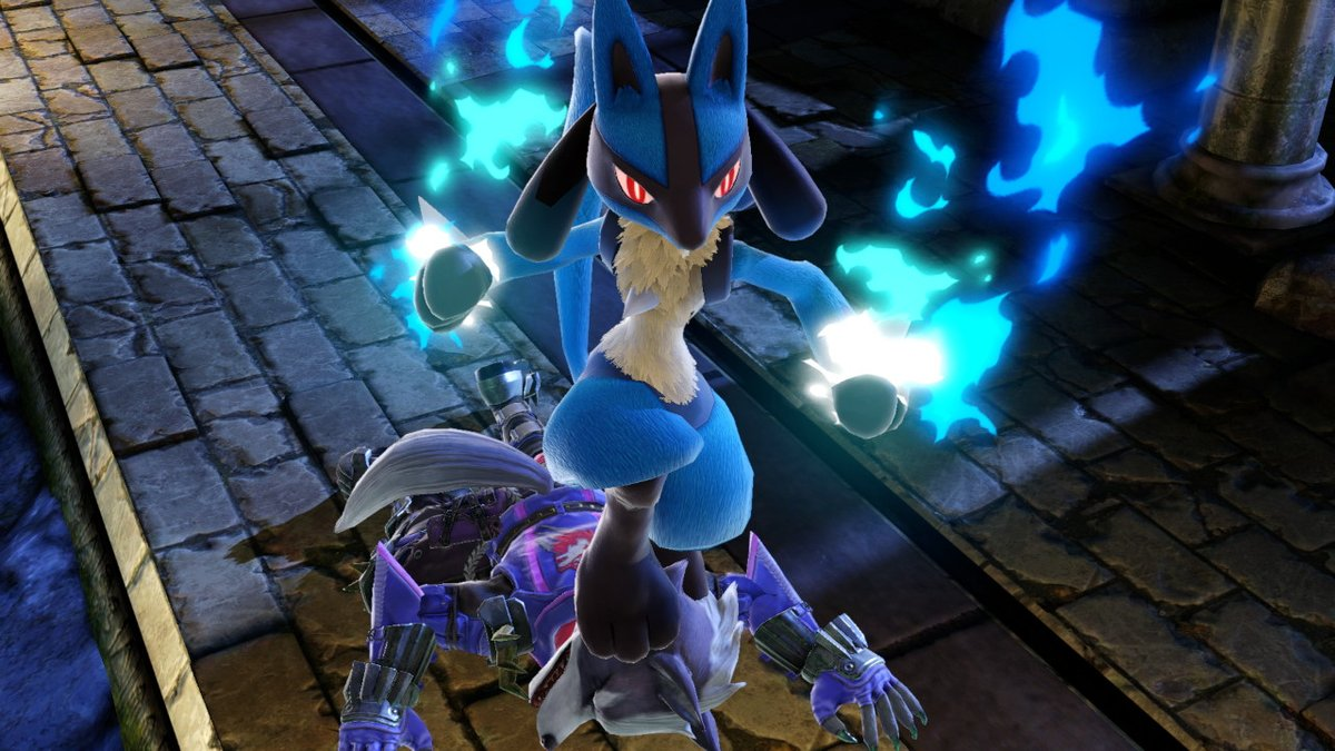 Lucario and Wolf.jpg