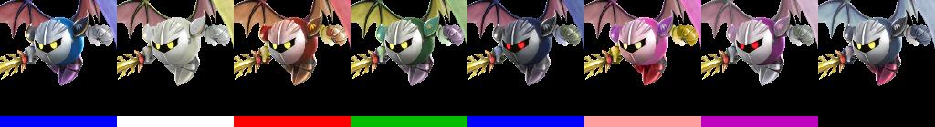 Meta Knight Smash 4 Alts.png