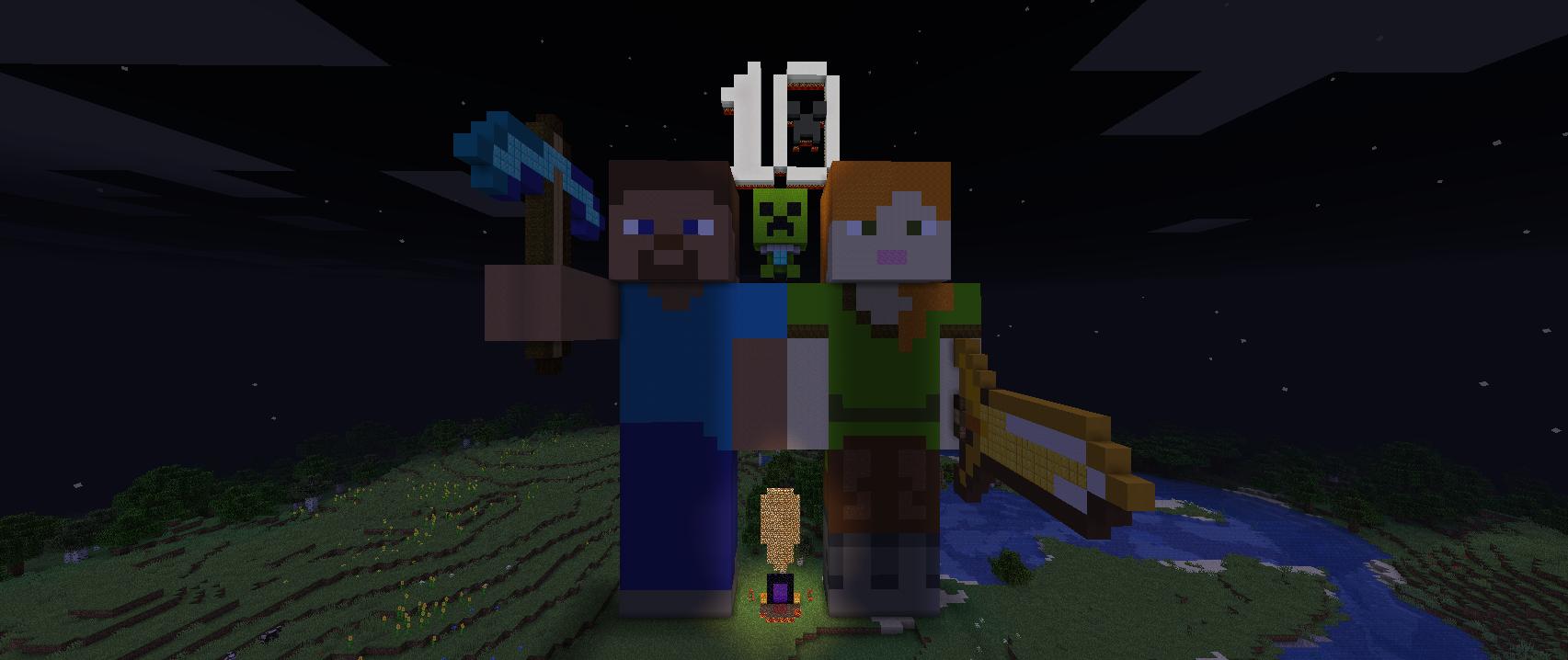 Minecraft's 10th Birthday (Night).png