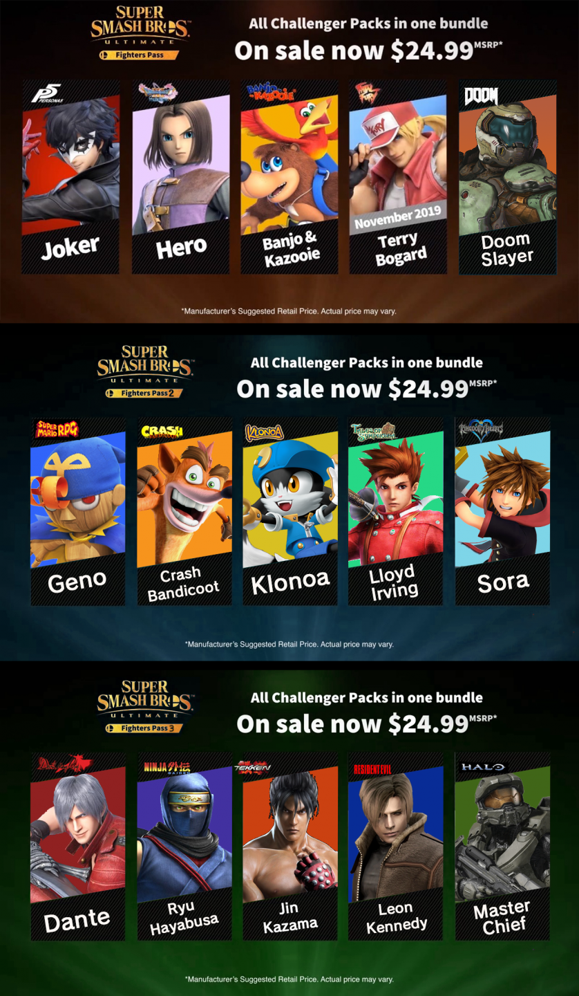My smash ultimate dlc fighters in order.png
