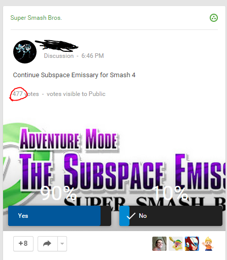 A Poll I Found On G About Subspace Emissary Smashboards