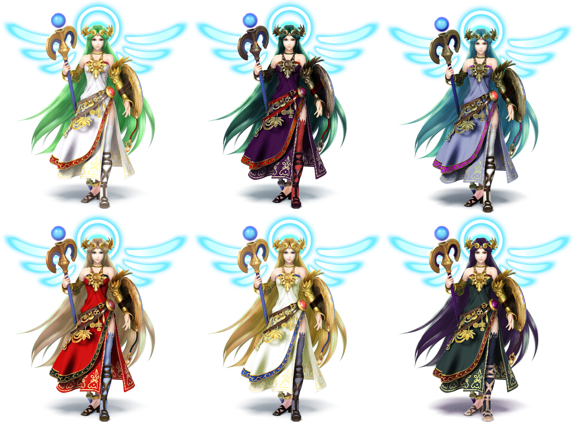 Alternate outfits I would like to see in Super Smash Bros Ultimate  Palu-png