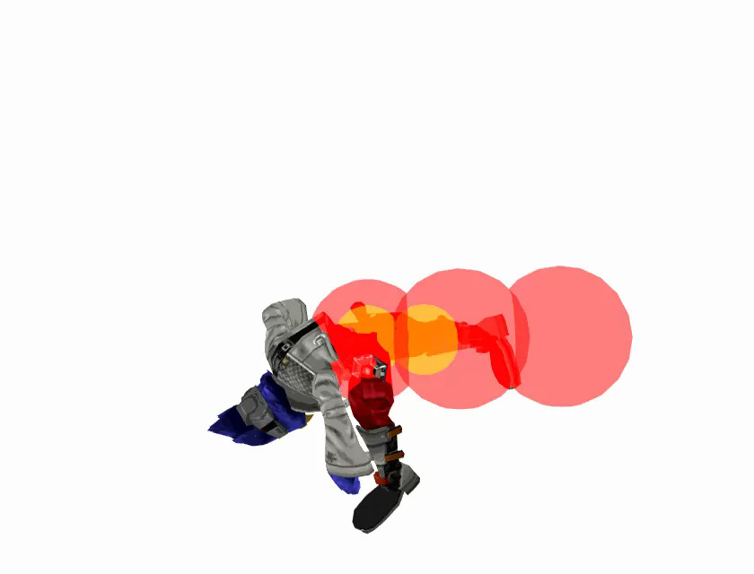 prepatch Falco up smash startup.jpg