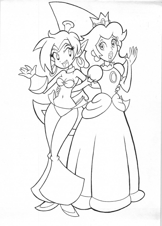Princess_Peach_and_Shantae_by_jmkplover.jpg
