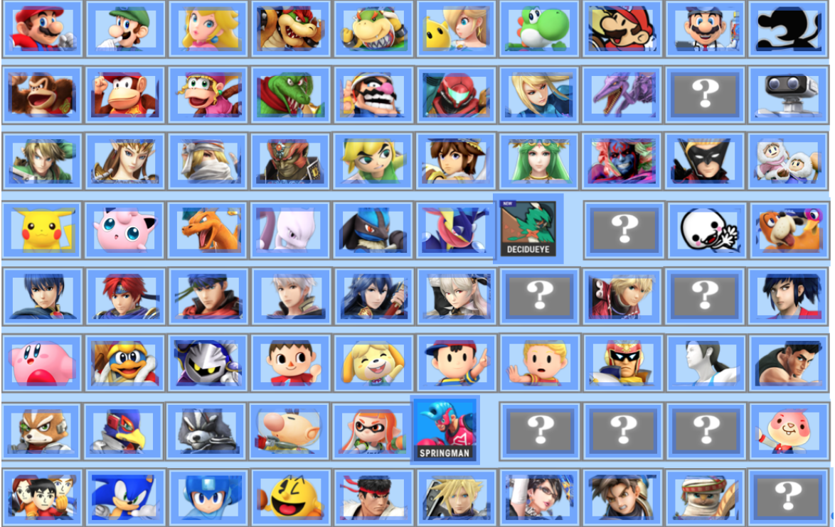 Early Smash 5 Fan-Made Rosters (Ideal or Prediction) | Page