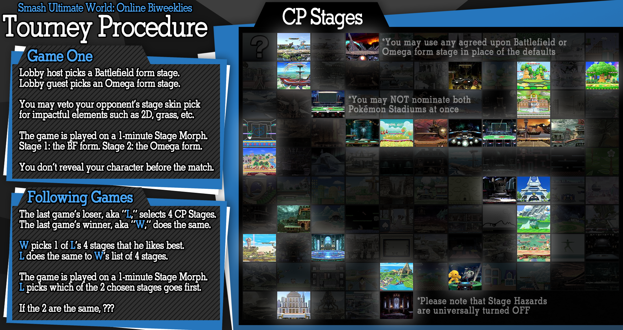 Discussion of Stage Legality in Smash Bros  Ultimate | Page