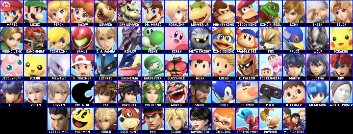 Super Smash Bros. Ultimate Speculation Roster.png