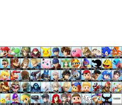 Smash 5 roster.png