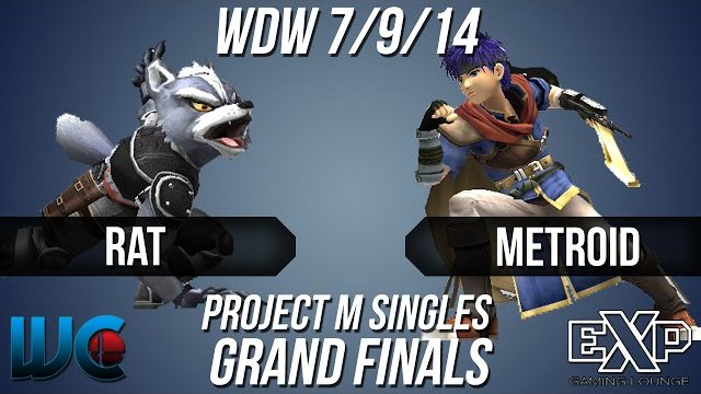 WDW 7/9/14 - Rat (Wolf) vs. metroid (Ike) PM Singles Grand Finals