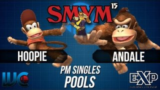 SMYM 15 - Hoopie (Diddy Kong) vs. Andale (Falco/DK) PM Pools