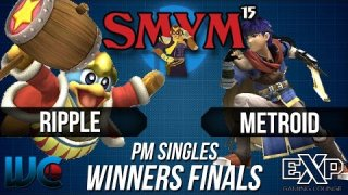 SMYM 15 - Ripple (Dedede) vs. Metroid (Charizard/Ike) PM Winner's Finals