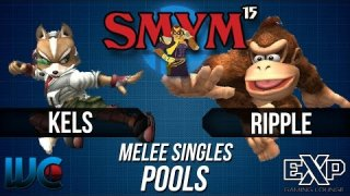 SMYM 15 - Ripple (DK) vs. Kels (Fox) Melee Pools