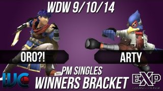 WDW 9/10/14 - Oro?! (Ike) vs. Arty (Falco) PM Winners Bracket