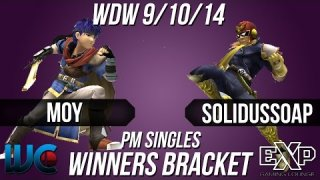 WDW  9/10/14 - Moy (Ike) vs. SolidusSoap (Falcon) PM Winners Bracket