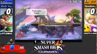 Round 1 Set 6 | TheComicFiend vs YamHamMkII | Super Smash Bros. for 3DS Online Tournament 9/14/14