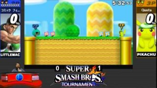 Losers Semifinals | Quote vs TheComicFiend | Super Smash Bros. for Nintendo 3DS 9/14/2014