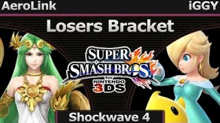 Shockwave 4 Smash 3DS - AeroLink (Palutena) vs iGGY (Rosalina) - Losers Bracket