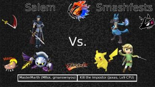 Doubles Round 1 - MasterMarth (Gmanownyou/MasterFisk) VS Kill The Imposter (Jaxas/CPU)