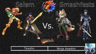 [Brawl|10-18-14] Round 02: Texahn (Samus, Ike) VS Ninja Asashin (Fox, Marth)