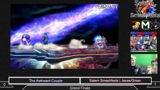 [Sm4sh|10-25-14] Doubles Finals: Awkward Couple (Masterfisk/Rom) vs Salem Smashfests|Jaxas/G~Man