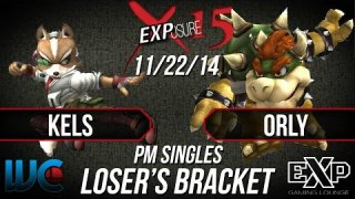 EXPosure 15 - Kels (Fox) vs Orly (Bowser/Falcon)