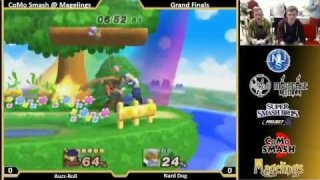CoMo @ Magelings PM 3.5 Singles Winners Round 1: Buzz-Roll (Ike) Vs. Nard Dog (Sheik)
