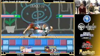 CoMo @ Magelings PM 3.5 Singles Grand Finals: Frizz (Falcon, Fox) Vs. Buzz-Roll (Ike)