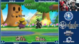 DIOD XI PM 3.5 Singles Winners Quarters: Egggman (Luigi) Vs. Strong Bad (Wario)