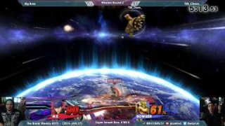 The Break #293   SSB4 W2   Big Boss VS TSB Chaos