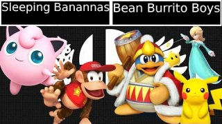 [Smash 4|Fight or Flight] Doubles: Sleeping Banannas VS Bean Burrito Boys