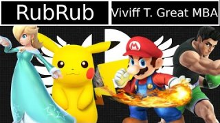 [Smash 4|MM] RubRub (Rosalina, Pikachu) VS Cacaw|Viviff T Great MBA (Little Mac, Mario)