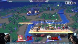 The Break #296   SSB4 R5   Vinsane VS OcS Biddy