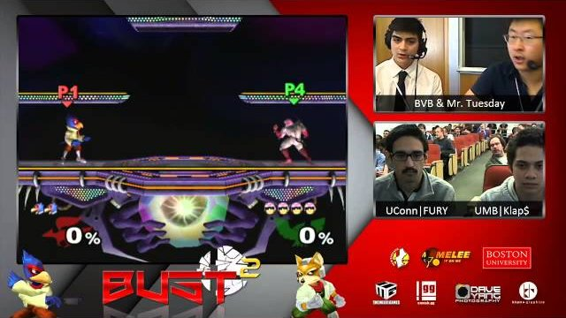 BUST2 - UMass Boston vs UConn - TMG NE Grand Finals (Spring 2015)