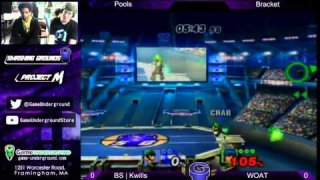 Underground Finale Pools Tiebreaker: BS Kwills (Luigi) vs SnT MBP (Marth)
