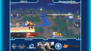 DIOD XI SSB4 Singles Winners Semis: Strong Bad (Diddy) Vs. CT NLS DeLux (Zero Suit Samus)