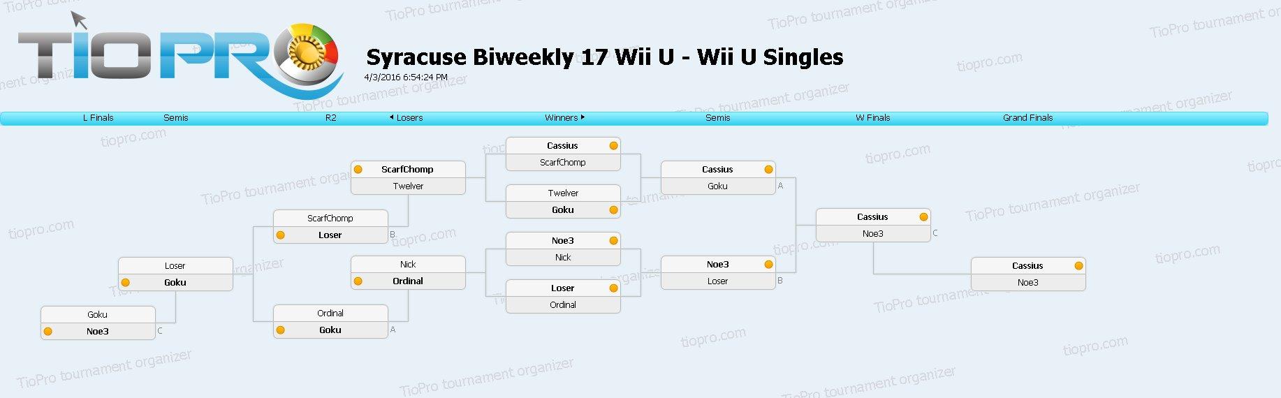 SSB17 Wii U Singles