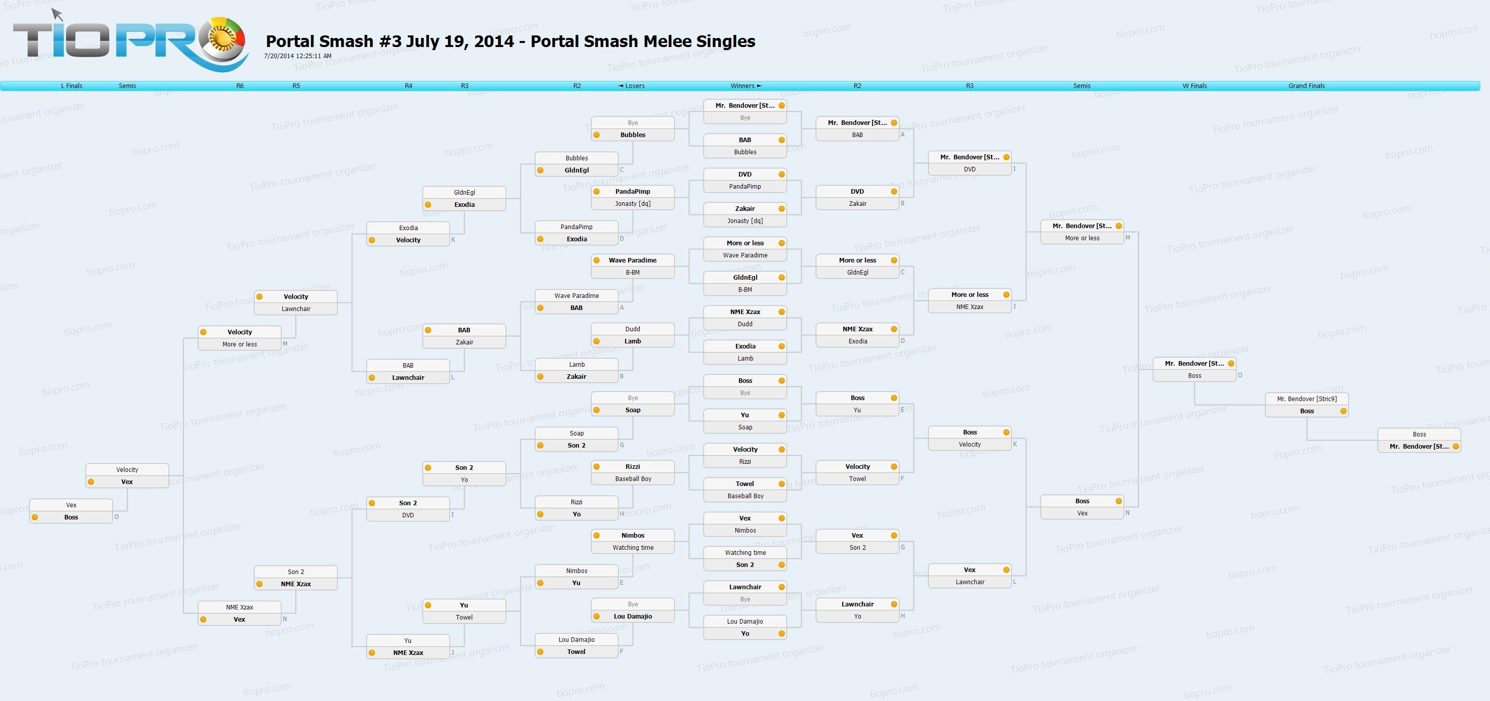 Portal Smash#3 Melee Singles